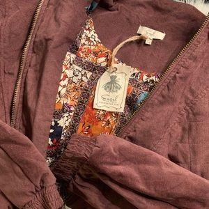 Easel Bomber Style Jacket